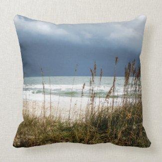 Sea after Storm Throw Pillow