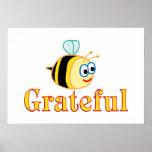 Sea agradecido impresiones