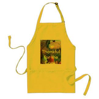¡Sea agradecido para el cocinero! Delantal