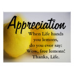Sea agradecido y cuente sus bendiciones 3 impresiones