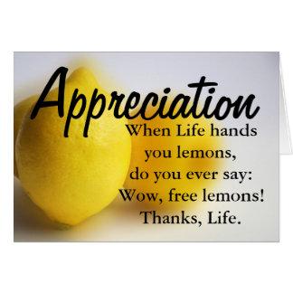 Sea agradecido y cuente sus bendiciones tarjeta de felicitación