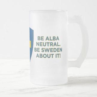 Sea Alba Neutral-Es taza del vidrio esmerilado de