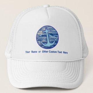 Sea Anchor Custom Trucker Hat