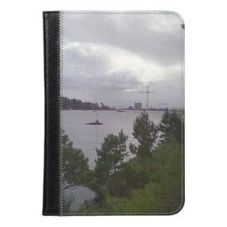 Sea and building iPad mini case