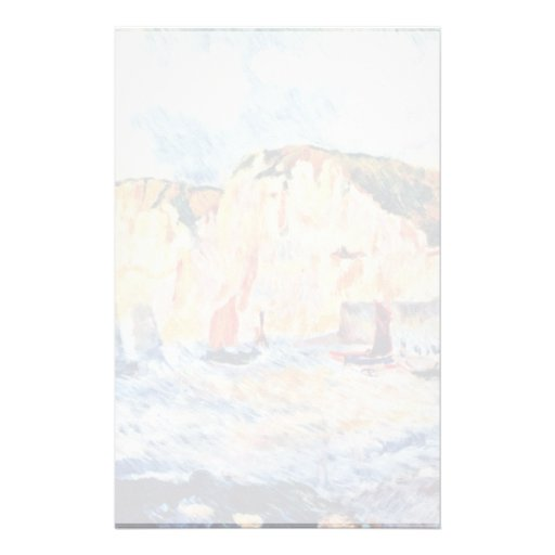 Sea And Cliffs By Pierre-Auguste Renoir Stationery Design