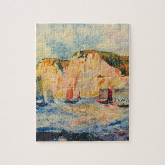 Sea and Cliffs by Pierre Renoir Jigsaw Puzzles