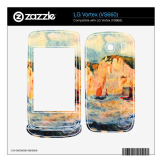 Sea and cliffs by Pierre Renoir Skins For LG Vortex