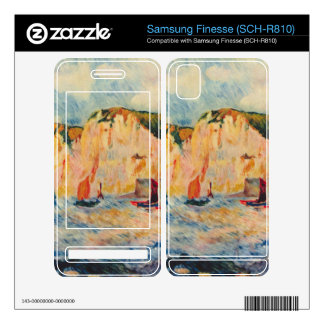 Sea and Cliffs by Pierre Renoir Decal For Samsung Finesse