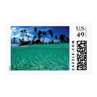 Sea And Island, Indonesia Postage