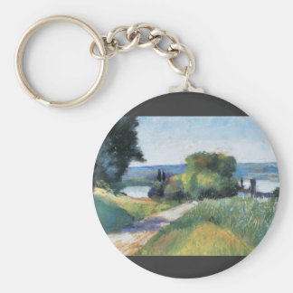 Sea and Landscape by Lesser Ury Key Chains
