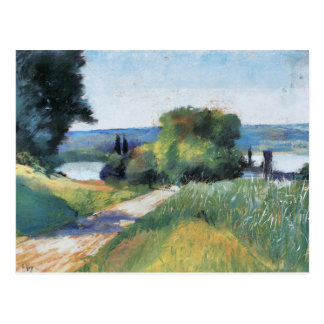 Sea and Landscape by Lesser Ury Postcard