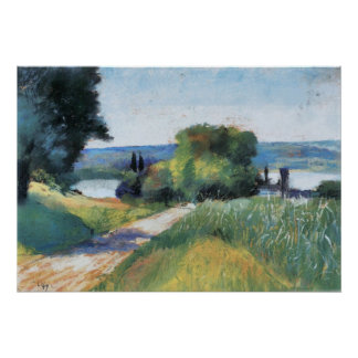 Sea and Landscape by Lesser Ury Poster
