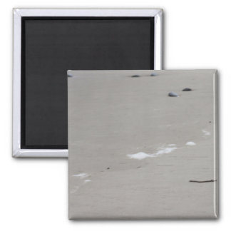 Sea and Sand 2 Inch Square Magnet