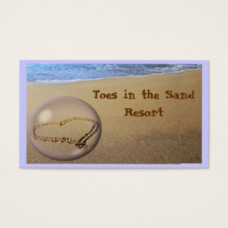 Sea and Sand Business Card.. Business Card