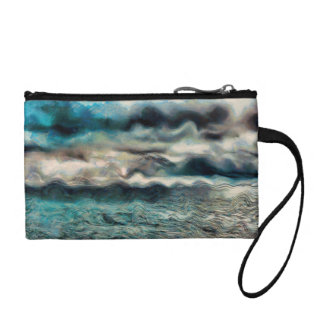 Sea and Sky Change Purse