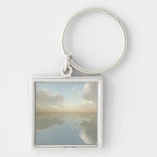 Sea and Sky Key Chain