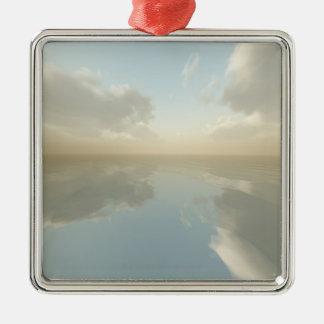 Sea and Sky Metal Ornament