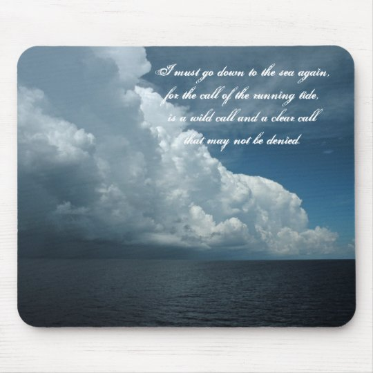 Sea and Sky Mouse pad