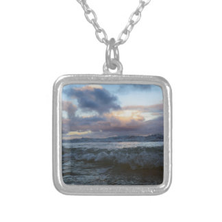 Sea and Sky of Hawaii Silver Plated Necklace