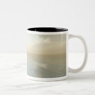 Sea and Sky Two-Tone Coffee Mug