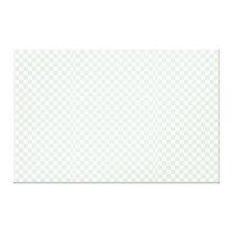 Sea Anemone Gingham Pattern Canvas Print