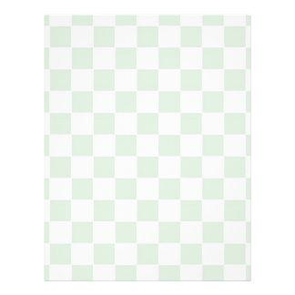 Sea Anemone Gingham Pattern Flyer