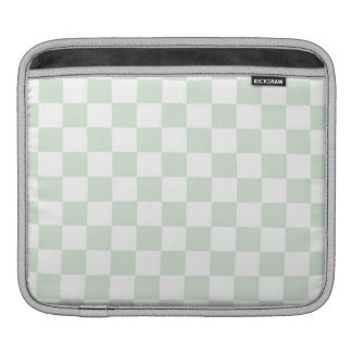 Sea Anemone Gingham Pattern iPad Sleeves