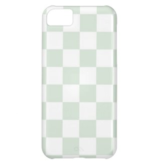 Sea Anemone Gingham Pattern iPhone 5C Covers