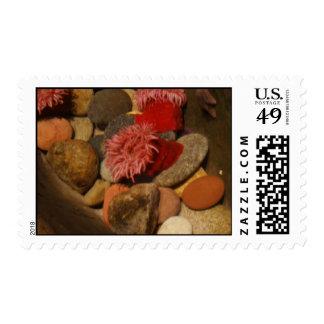 Sea anemone stamp