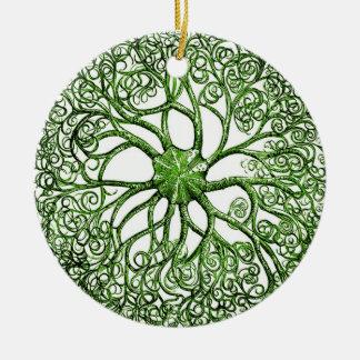 Sea Anemone Vintage Sea Life Ceramic Ornament
