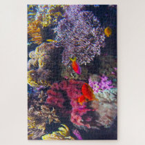 Sea Anemones and Tropical Fish. Jigsaw Puzzle