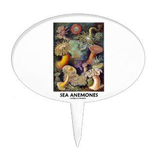 Sea Anemones Cake Topper