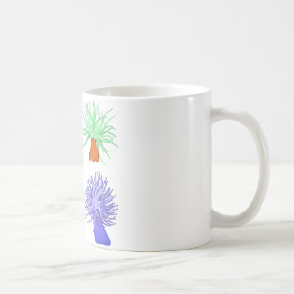 sea anemones coffee mug
