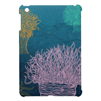 Sea anemones iPad mini case