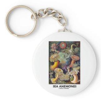 Sea Anemones Keychains
