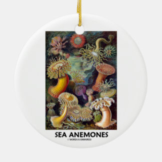 Sea Anemones Christmas Tree Ornament