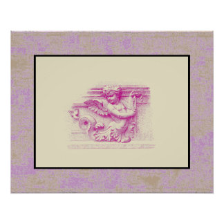 Sea Angel ~ Poster 30x24 Matted Design