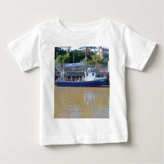 Sea Angling Boat Blue Dawn Baby T-Shirt
