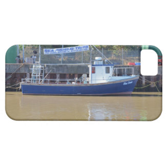 Sea Angling Boat Blue Dawn iPhone 5 Case