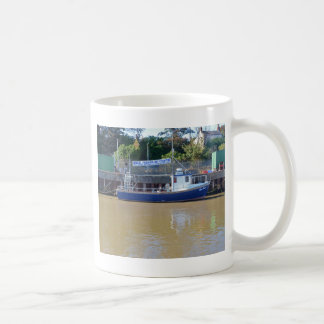 Sea Angling Boat Blue Dawn Coffee Mug