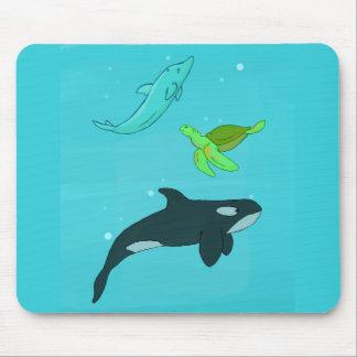 Sea Animals Mouse Pad