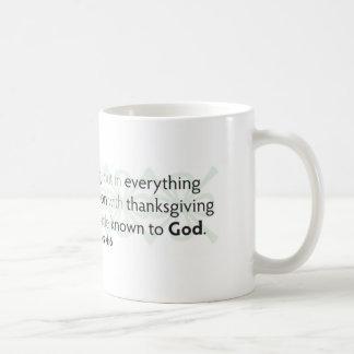 Sea ansioso para nada taza de café