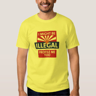 Sea Arizona ilegal Remera