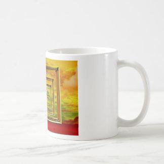 sea art classic white coffee mug
