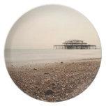 Sea at Brighton Beach Plates