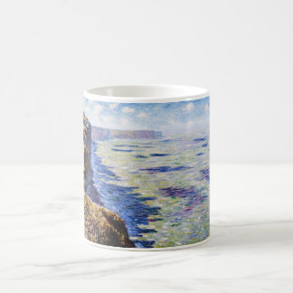 Sea at Fecamp, View from the Cliffs, 1881 Coffee Mug