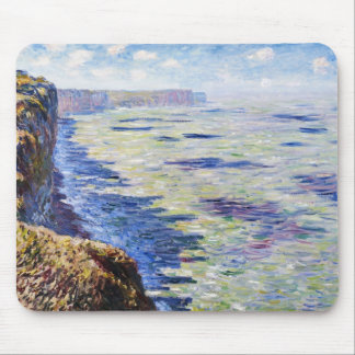 Sea at Fecamp, View from the Cliffs, 1881 Mouse Pad