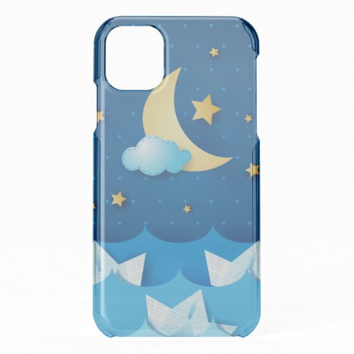 Sea at Night iPhone 11 Case