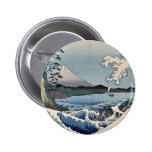 Sea at Satta in Suruga Province by Ando, Hiroshige Buttons