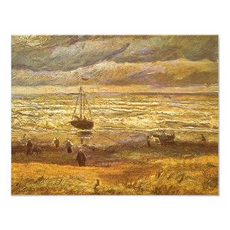 Sea at Scheveningen by Vincent van Gogh Card